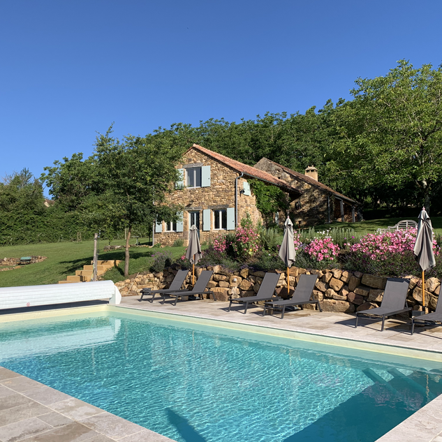 Gîte Monfort, piscine