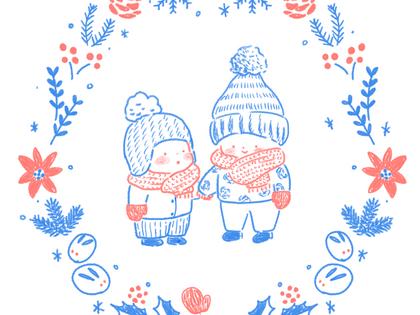 冬服のちびっこ