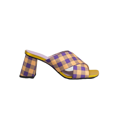 UNREAL FIELDS | Sandals Madge Gold/Purple