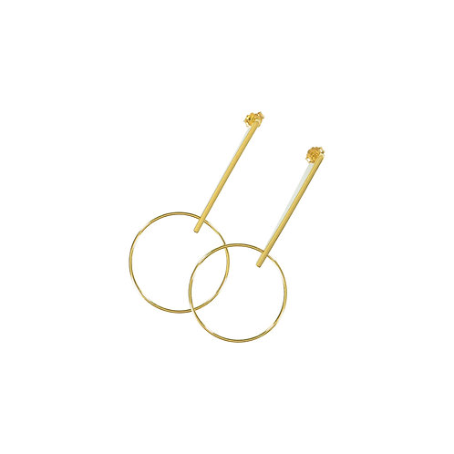 CATARINA CATARINO | Earrings With Circle