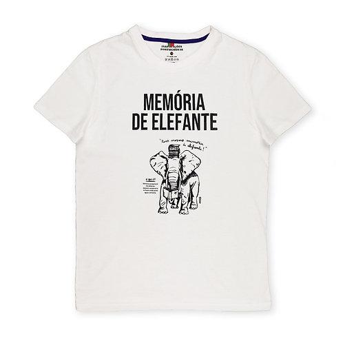 INSPIRAÇÕES PORTUGUESAS | Memória de Elefante T-shirt
