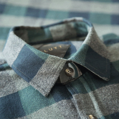 FLUYT | Copper Canyon Checked Flannel Shirt