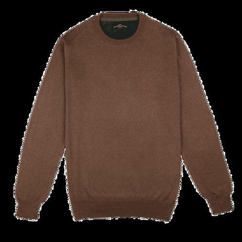 ARMAZÉM DAS MALHAS | Crew Neck Brown Sweater
