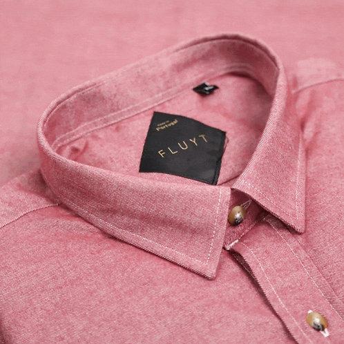 FLUYT   Pink Flannel Shirt