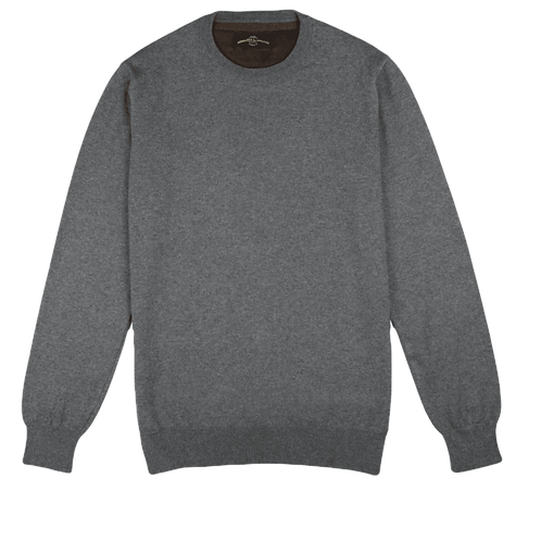ARMAZÉM DAS MALHAS | Crew Neck Grey Sweater