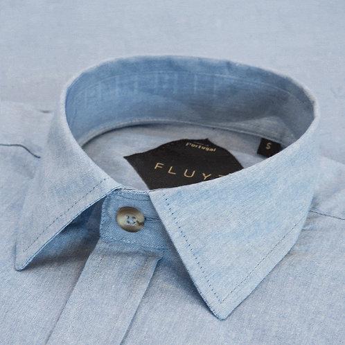 FLUYT | Denim Color Shirt