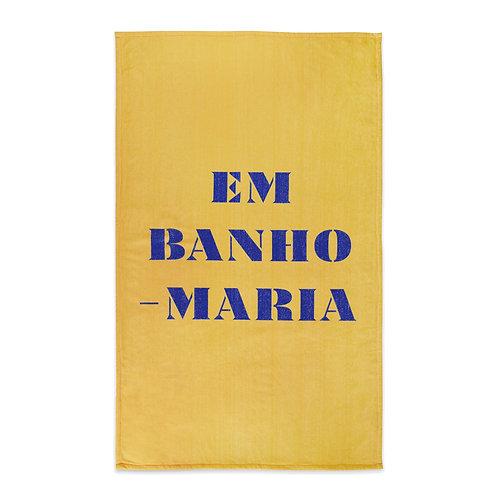 INSPIRAÇÕES PORTUGUESAS |  Em Banho Maria Towel