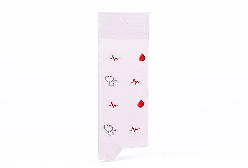 CAPTAIN SOCKS | Doctor Socks - Pink