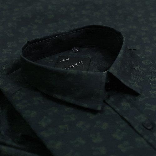 FLUYT   Chestnut Bat Short Sleeve Shirt