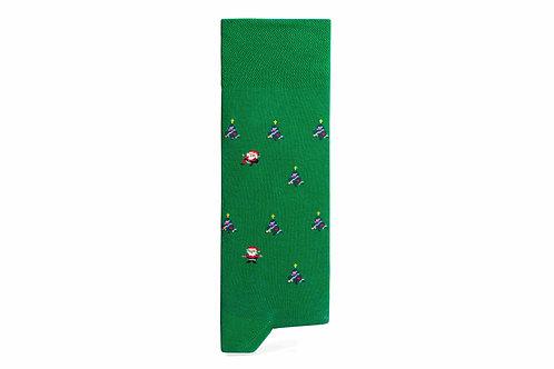 THE CAPTAIN SOCKS | Xmas Socks - Green
