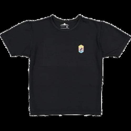 FLUYT | Black Coat-Of-Arms T-Shirt