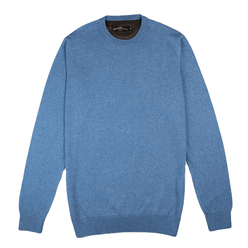 ARMAZÉM DAS MALHAS | Crew Neck Blue Sweater