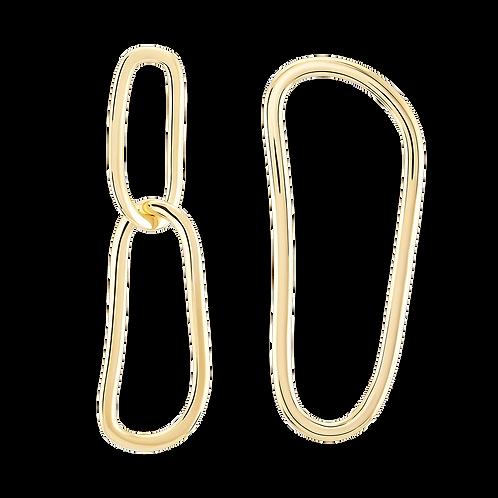 WONTHER | Open Fingerprint Earrings