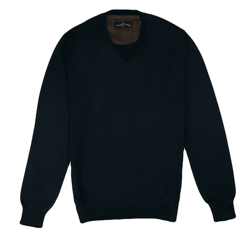 ARMAZÉM DAS MALHAS | V Neck Black Pullover