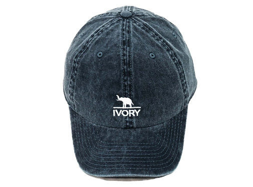 IVORY | Blue Navy Cap