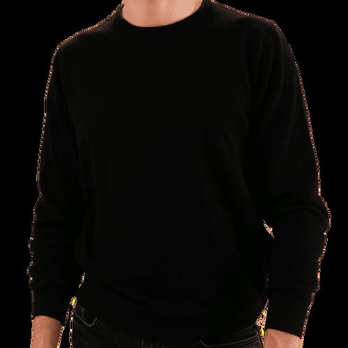 ARMAZÉM DAS MALHAS | Crew Neck Black Sweater