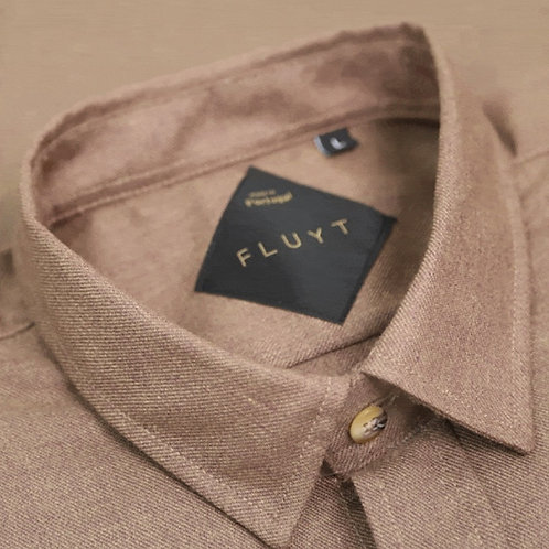 FLUYT | Brown Flannel Shirt
