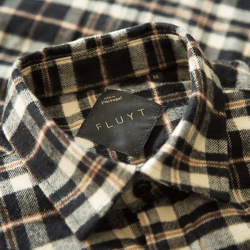 FLUYT | Hells Canyon Checked Flannel Shirt