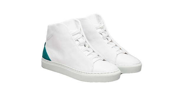 DIVERGE | V12 White Leather w/ White