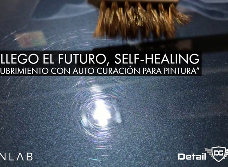 """""""Llego el Futuro, Auto Curación para Pintura (Self-Healing)"""""""