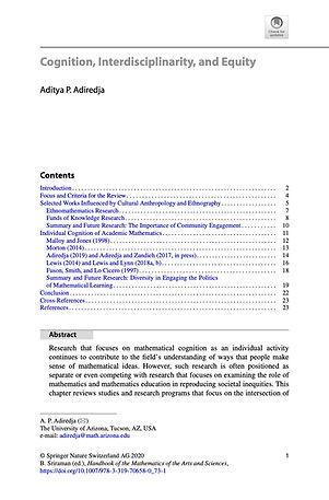 Adiredja (2020) Cognition Interdisciplin
