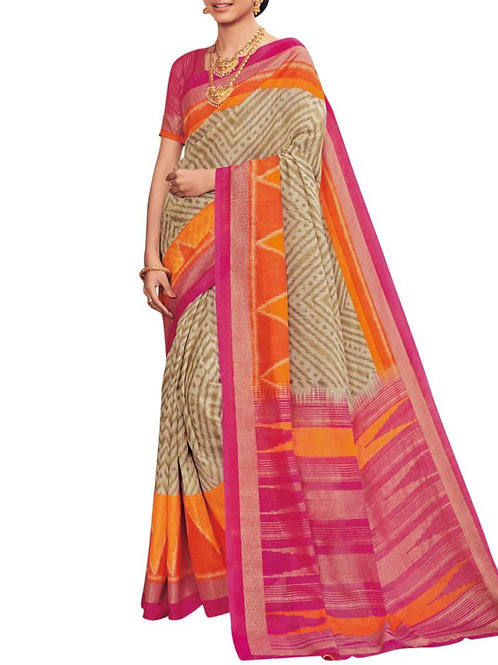 Cheery Multi Best Online Saree Shopping Sites