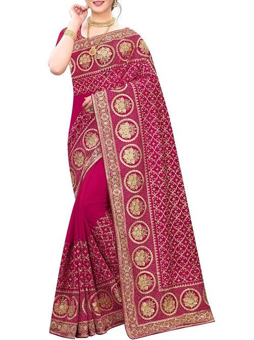 Captivating Rani Saree