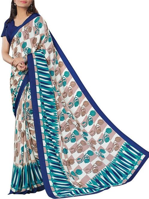 Cute Multi Color Silk Sarees Online