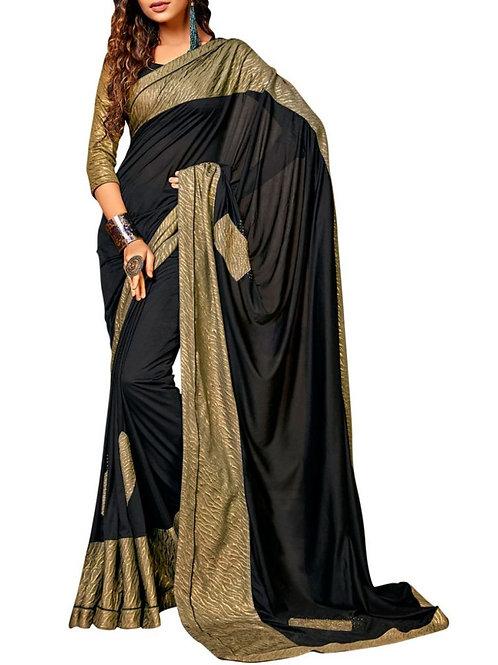 Adorable Black Sarees
