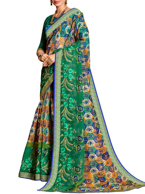Magnificent Multi Color Beautiful Sarees For Sale