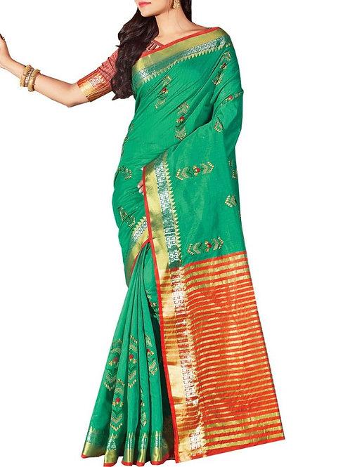 Different Sea Green Color Saree Price In India