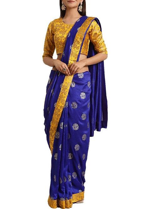 Fascinating Blue Pattu Sarees Online