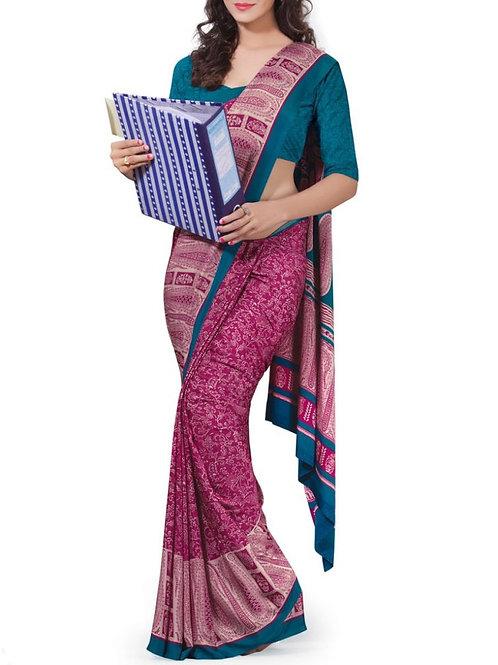 Breathtaking Pink Color Best Designer Sarees
