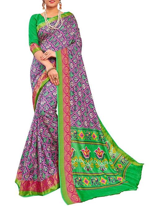 Astounding Multi Color Best Saree