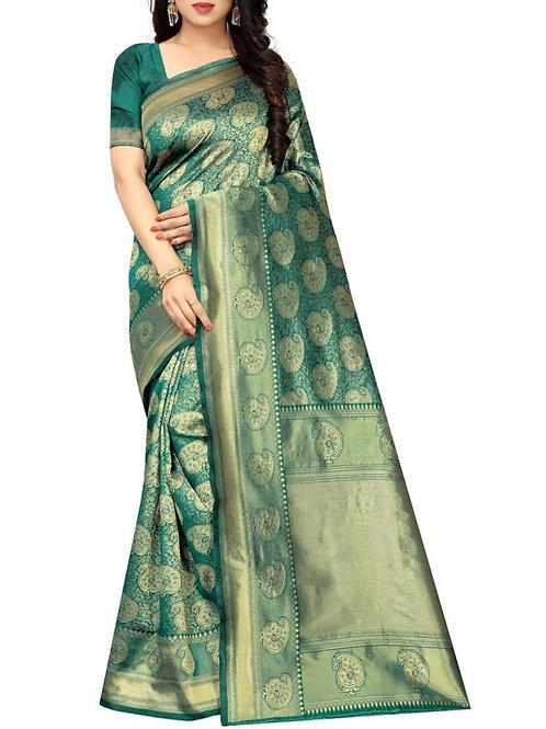 Divine Rama Best Designer Sarees