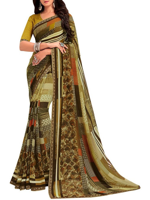 Audacious Green Sarees Online Shopping With Price