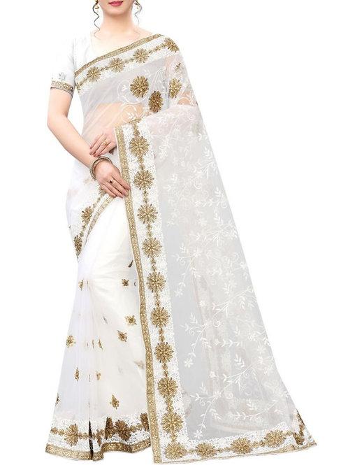 Awe-Inspiring White Designer Dress Design