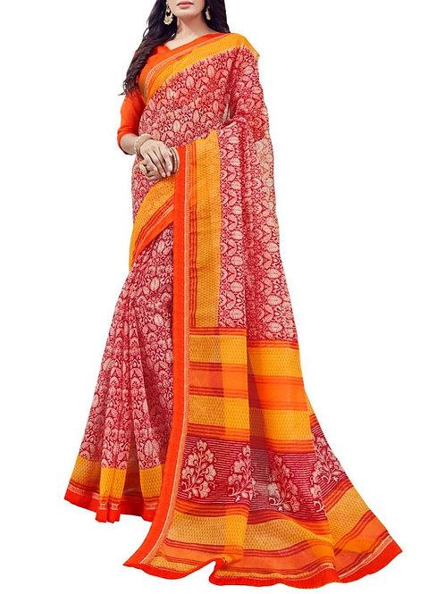 Overpowering Maroon Color Saree Bazaar