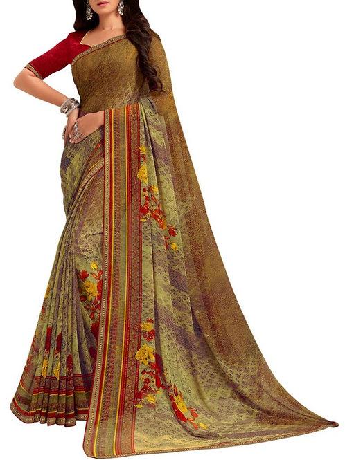 Glorious Multi Fashion Designer Saree