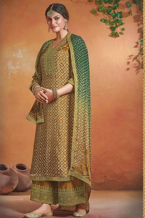 Beautiful YellowSalwar Suit