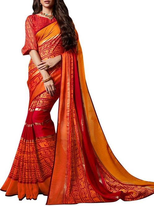 Glamorous Multi Color Best Sarees Online