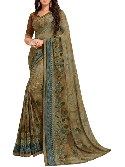 Astounding Green Designer Sarees Collection With Price