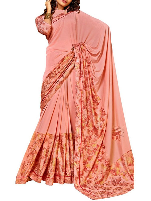 Agreeable Light Pink Latest Saree Trends