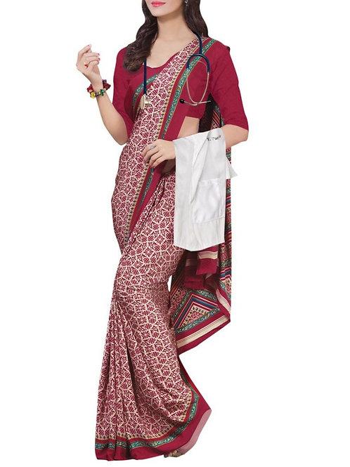 Exquisite Multi Color Indian Saree Blouse