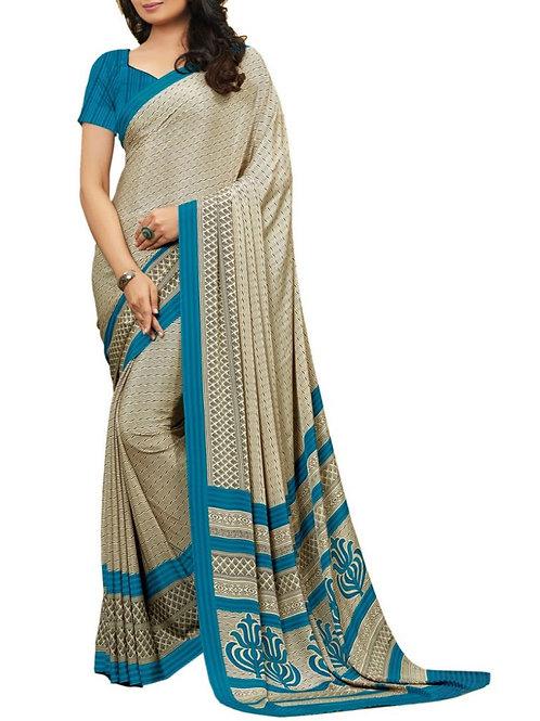 Captivating Multi Color Routine Wear Saree