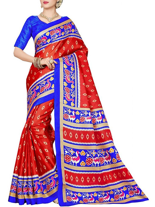 Beautiful Red Color Designer Sarees Online Sale