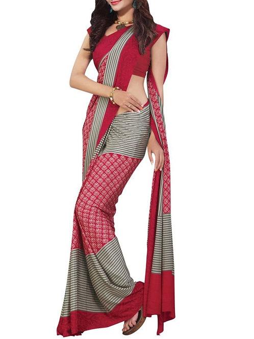 Comely Multi Color Silk Sarees
