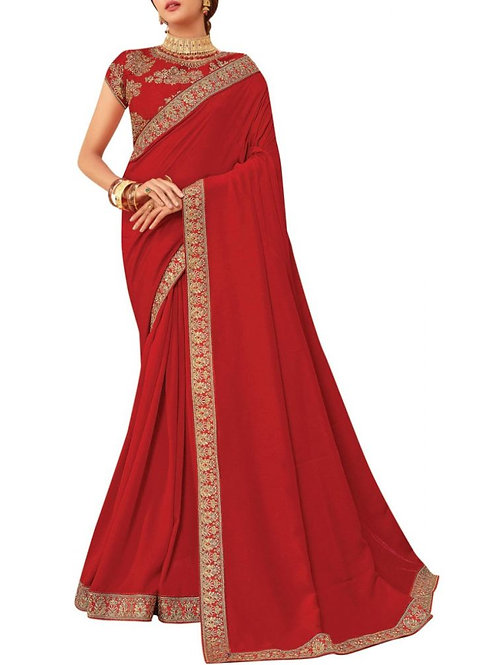 Fantastic Red Saree Sale