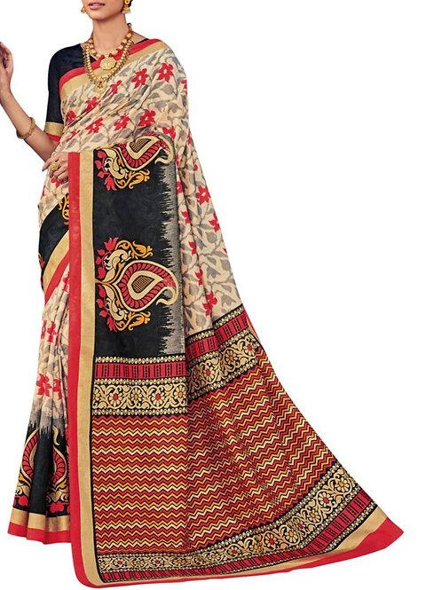 Pleasing Multi Designer Silk Sarees