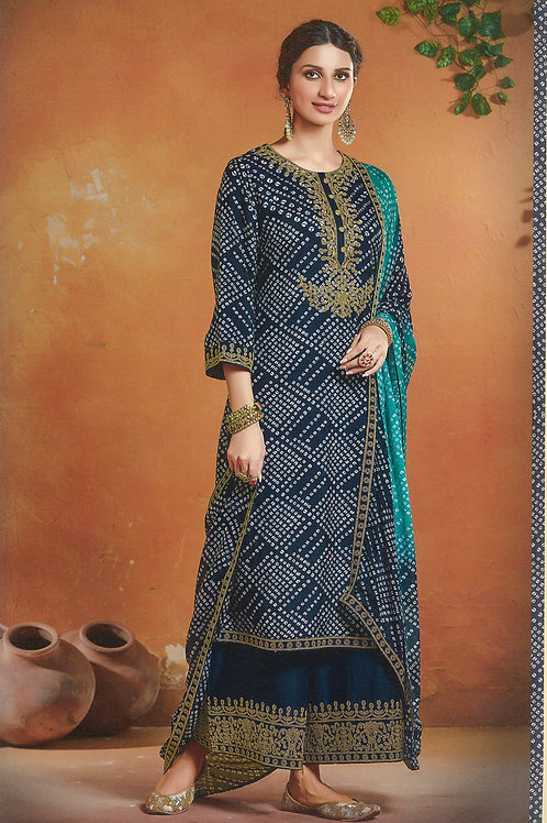 Attractive Blue Colour Salwar Suit